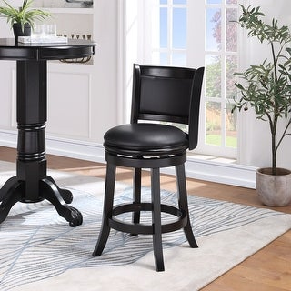 Link to Augusta 24-inch Swivel Counter Stool Similar Items in Dining Room & Bar Furniture