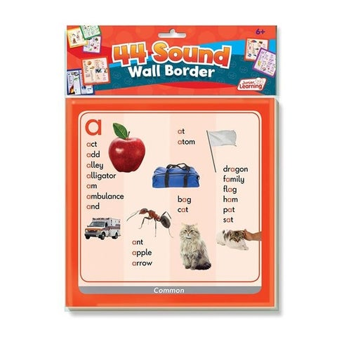 Junior Learning JRL466 44 Sounds Wall Borders