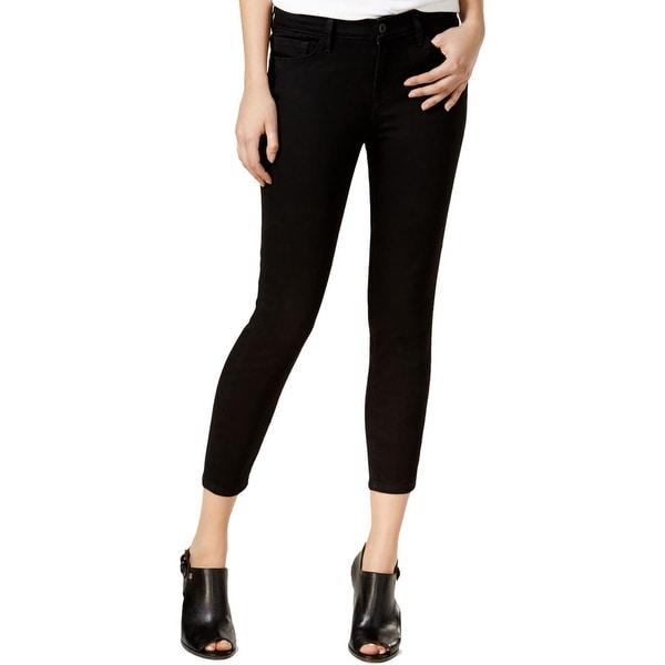 ca99cf10a Shop Tommy Hilfiger Womens Greenwich Skinny Jeans Cropped Twill ...