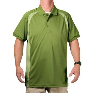 Zorrel Big Men's 'Plantation' Breathable Performance Polo