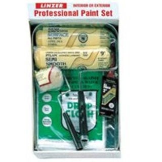 Linzer RS701-SP Paint Roller And Tray Kit, Contractor Quality, 8 Piece