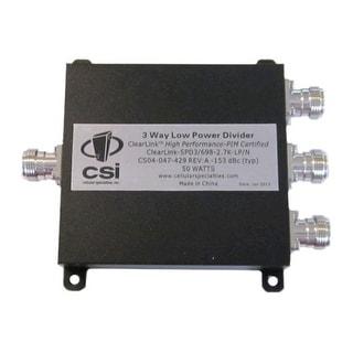 Cellular Specialties - 698-2700 MHz ClearLink Low PIM 3-Way Power Divider