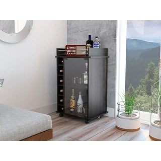 TUHOME Dukat bar cart