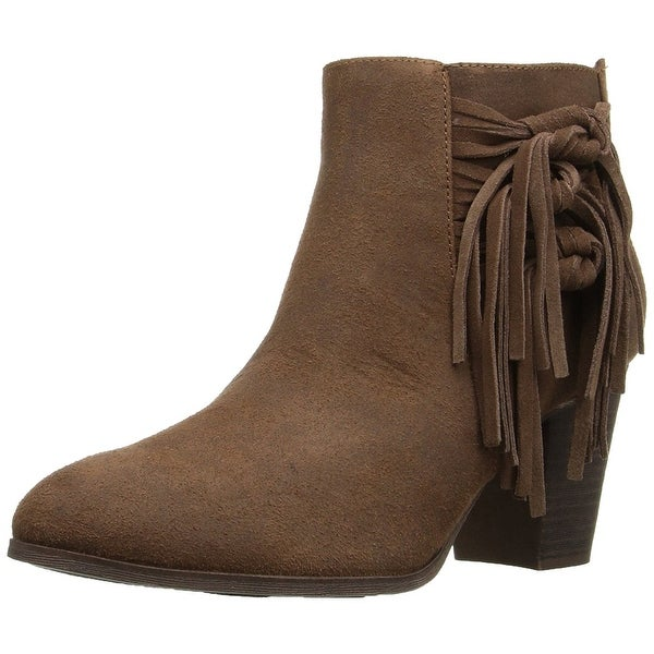 Fergalicious Womens Fergie Almond Toe Ankle Fashion Boots