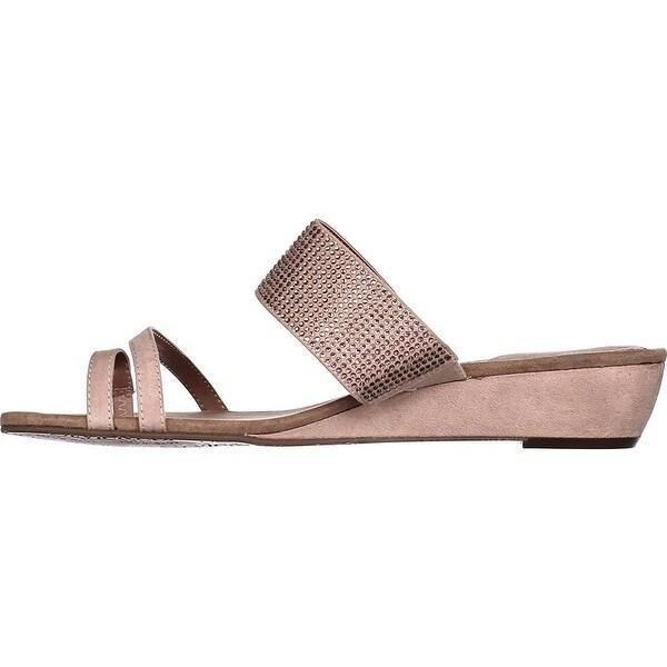 Style & Co. Womens Heidee Open Toe Casual Slide Sandals