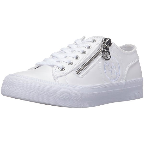 GUESS Womens Gemica Low Top Lace Up Fashion Sneakers