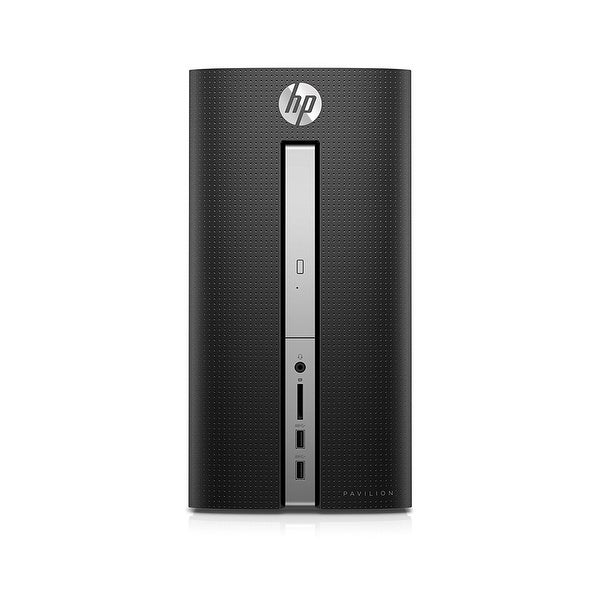 Refurbished - HP Pavilion 570-p014 Desktop PC AMD A10-9700 3.50GHz 8GB 1TB Windows 10/Z5L93AA