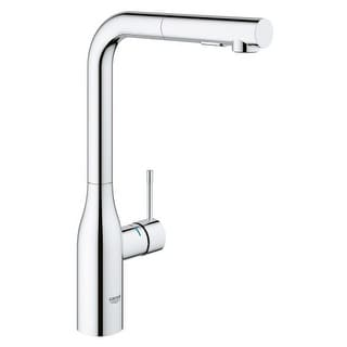 Grohe 30 271 Essence Pull-Out Kitchen Faucet with 2-Function Locking Sprayer