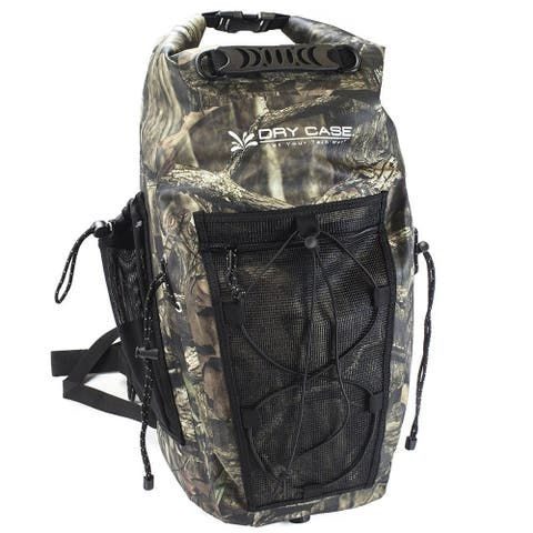 Dry case 35 liter waterproof camo backpack mo-35-buc
