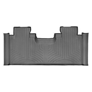 WeatherTech 446973 Black Rear FloorLiner: Ford F-150 2015 + , SuperCab, 1st row bucket