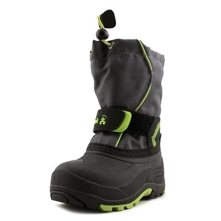 Kamik Snowbank Toddler  Round Toe Synthetic Gray Snow Boot