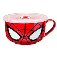 Marvel Character Molded Coffee Mug Spiderman - Multi