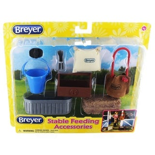 Breyer 1:12 Classics Model Horse Accessory: Stable Feeding