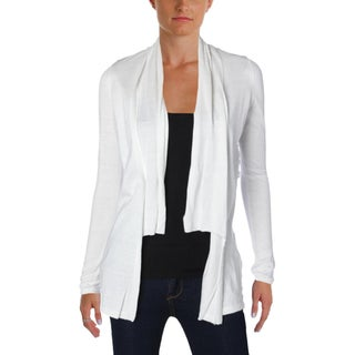 T Tahari Womens Lorena Cardigan Sweater Long Sleeve Lace Back