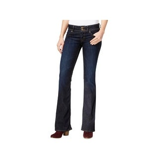Hudson Womens Bootcut Jeans Mid-Rise Dark Wash (2 options available)