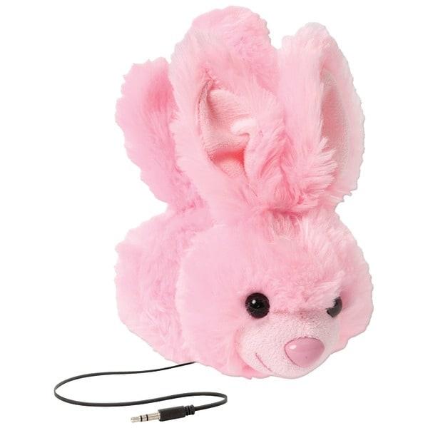 Retrak Etaudfbny Retractable Animalz Headphones (Bunny)