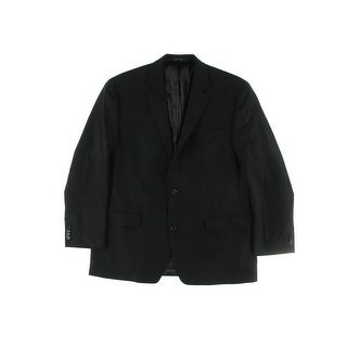 MICHAEL Michael Kors Mens Wool Notch Collar Two-Button Suit Jacket