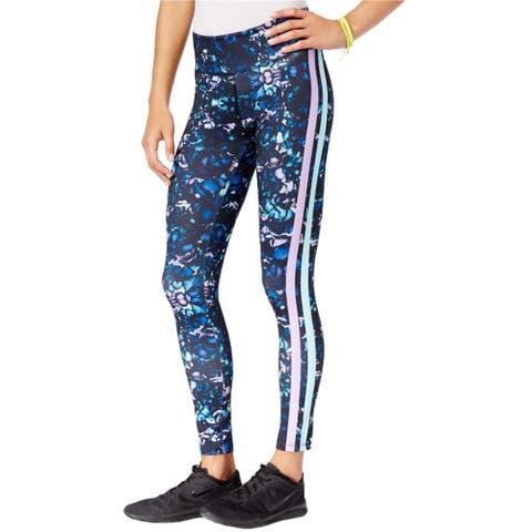 Jessica Simpson Womens Printed Casual Leggings, blue, Large