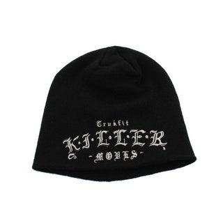 Trukfit Mens Knit Ribbed Beanie Hat - o/s