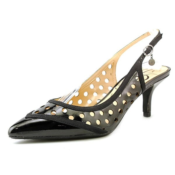 J. Renee Adalyn Women W Pointed Toe Synthetic Black Heels