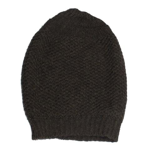 Womens Coffee Winter Warm Soft Beanie Knitted Cap Hat