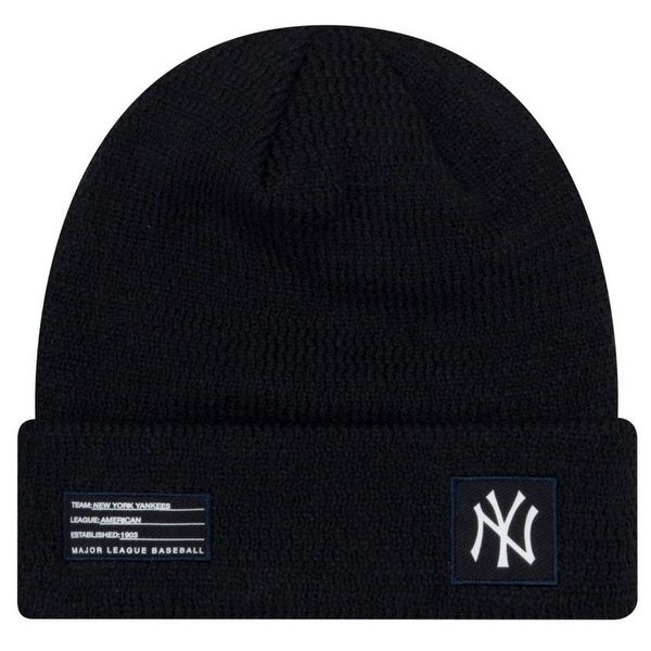 93f3aab9681a1 Shop New Era MLB New York Yankees Sport Stocking Knit Hat Beanie Cuff Skull  Cap - Free Shipping On Orders Over  45 - Overstock - 27341168