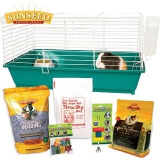 Home Sweet Home Sunseed Starter Kit Guinea Pig