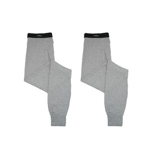Hanes Men's X Temp Thermal Underwear Pants (Pack of 2)