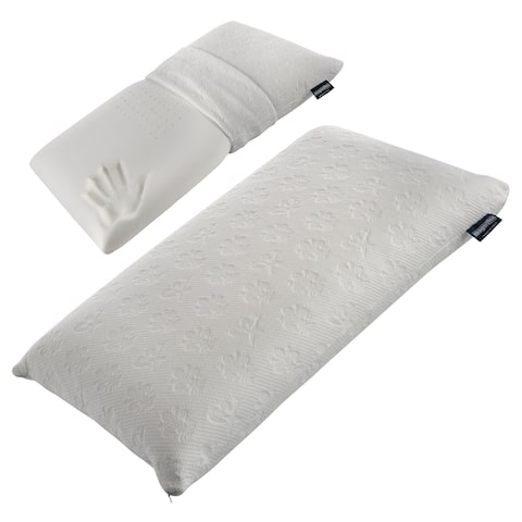 Magniflex Classico Maxi Pillow - Soft Pillow with Memory Foam - White