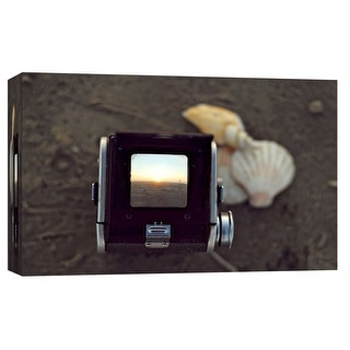 """PTM Images 9-102066  PTM Canvas Collection 8"""" x 10"""" - """"Duaflex Beach 1"""" Giclee Camera Art Print on Canvas"""