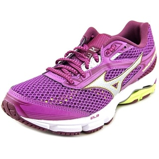 Mizuno Wave Legend 3  Women  Round Toe Synthetic Purple Running Shoe