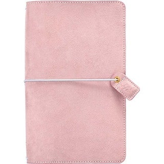 "Soft Lilac - Color Crush Faux Leather Traveler's Planner 5.75""X8"""