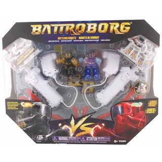 Battroborg Arena Pack With Blue and Gold Battroborg
