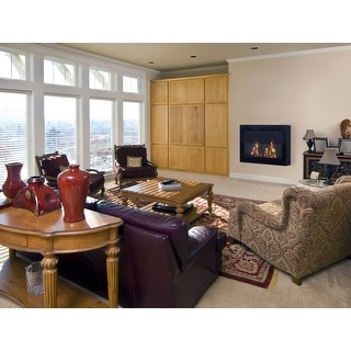 Anywhere Fireplaces 90200 SoHo Wall Mount Electric Fireplace - Black