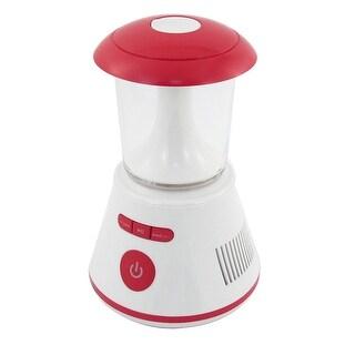 PC Computer Blue Cover Mini White Red LED Light Sound Box Speaker