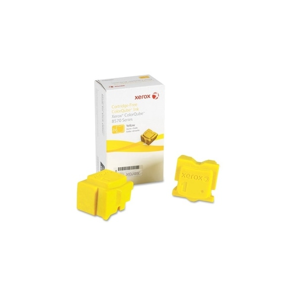 Xerox 108R00928 Xerox Solid Ink Stick - Yellow - Solid Ink - 4400 Page - 2 / Box