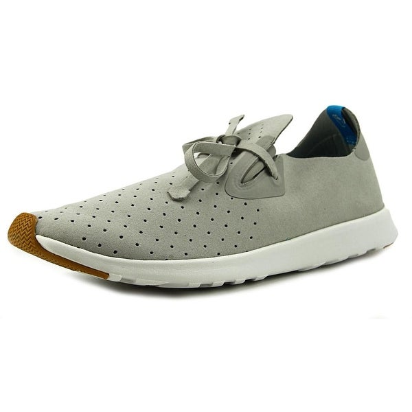 Native Apollo Moc Pigeon Grey/Shell White Sneakers Shoes