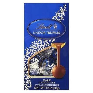 Lindt Truffles, Dark Chocolate, Bag - (Case of 6 - 5.1 oz)