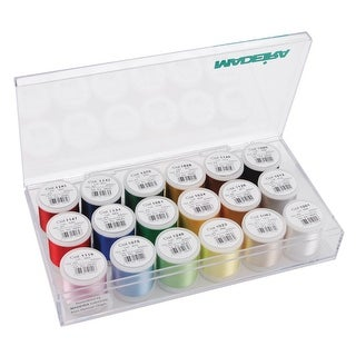 Madeira Rayon Thread Sampler 18/Pkg