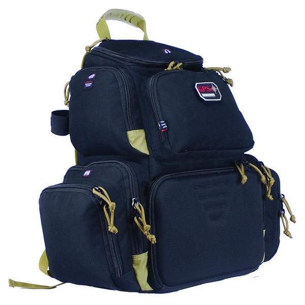 G.P.S. Handgunner Backpack Black/Tan GPS-1711BPBT