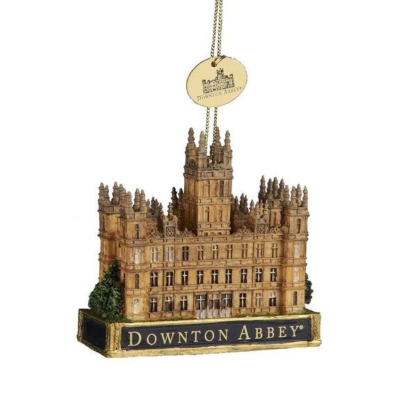 "Downton Abbey 3.5 Castle Ornament"""