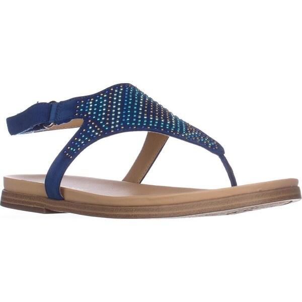 naturalizer Kelsie Flats Sandals, Oceanic Blue