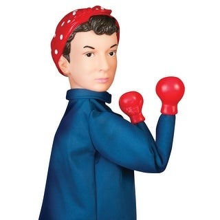 Archie McPhee Rosie The Riveter Punching Puppet - multi - 13 in.