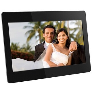 Aluratek ADMPF114F 14 HD Digital Photo Frame w/ High Quality Background Music