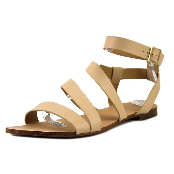 Splendid Caracas Women Open Toe Leather Tan Gladiator Sandal