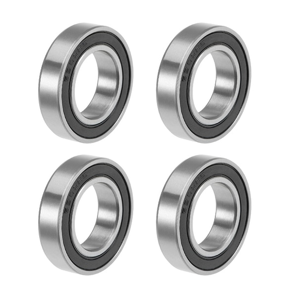 6903-2RS Deep Groove Ball Bearings Z2 17x30x7mm Double Sealed Carbon Steel 4pcs