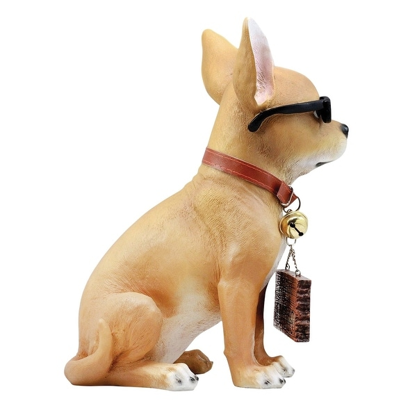 English Springer Spaniel Outdoor Garden Dog Sign Hand Painted Figure Black
