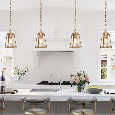 Modern Gold Kitchen Island Pendant Lights for Dining Room