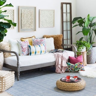 Link to Hand-Woven Charleigh Cotton Area Rug Similar Items in Casual Rugs