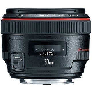 Canon EF 50mm f/1.2L USM Lens (International Model)